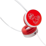 Groov-e My First Children's Headphones with Volume Limiter - Red Monkey